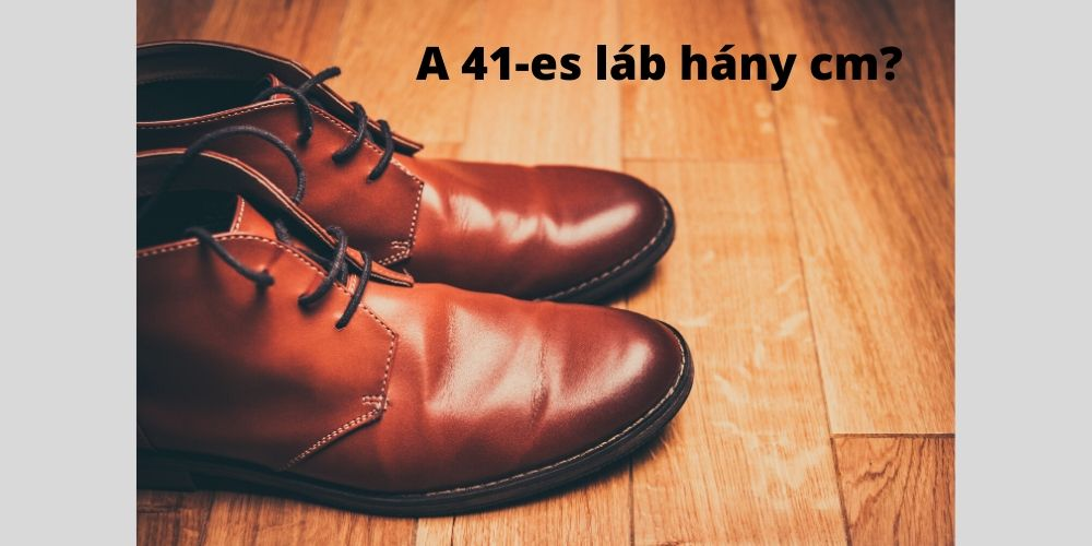 41es láb hány cm
