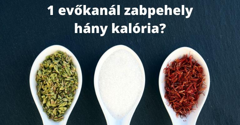1 evőkanál zabpehely kalória - Köbméter.com