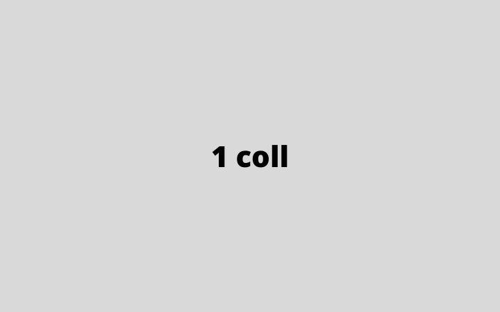 1 coll